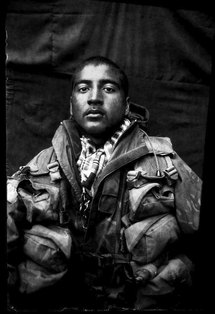 Corporal Bharat, mortar detonation leader