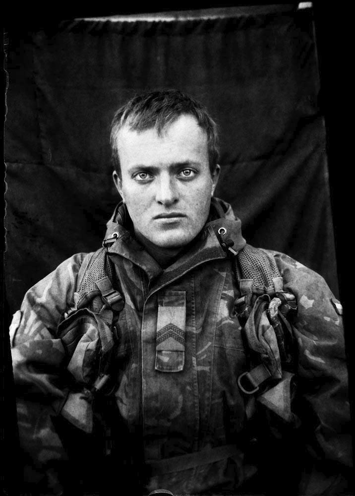 Corporal first class Sander, gunner