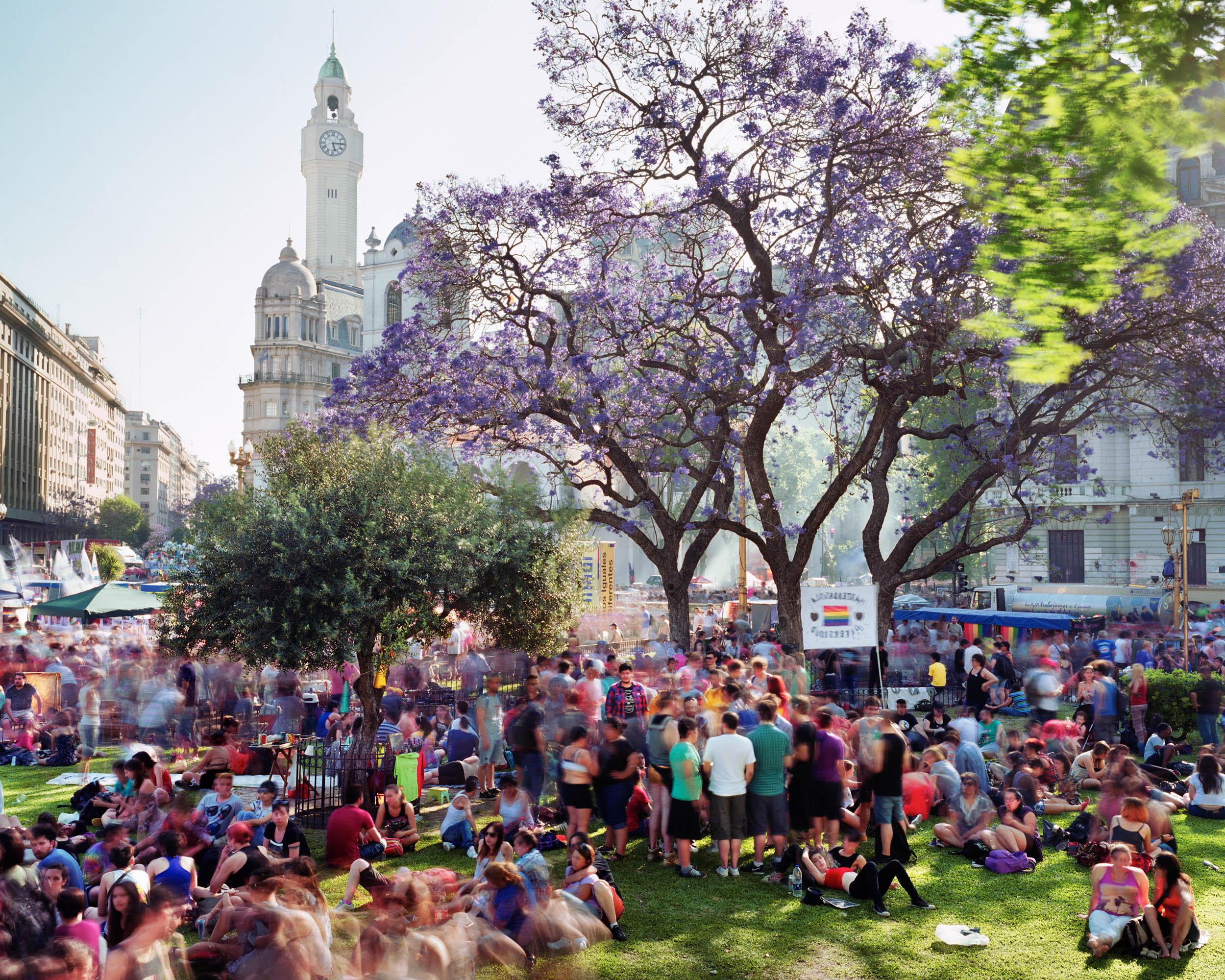 Plaza de Mayo, Barrio de Monserrat, Buenos Aires, Argentina