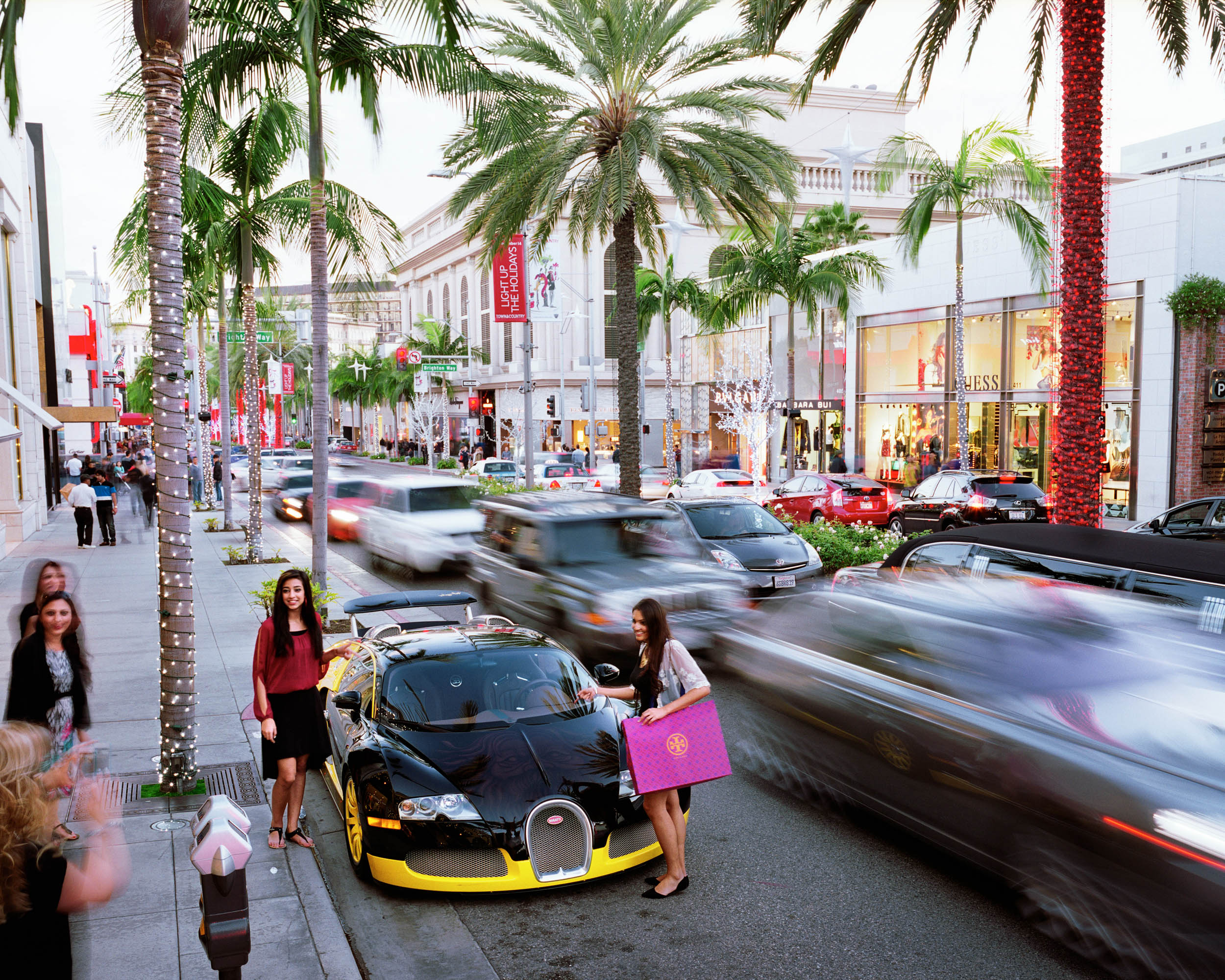 Rodeo Drive, Beverly Hills, Los Angeles, USA