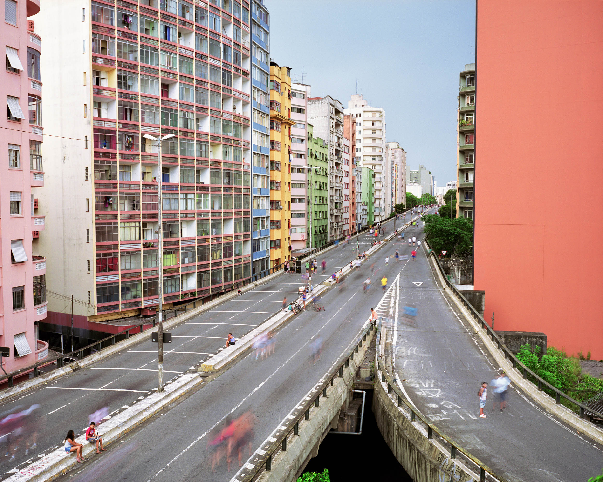 Elevado Costa e Silva, Se, Sao Paulo, Brazil