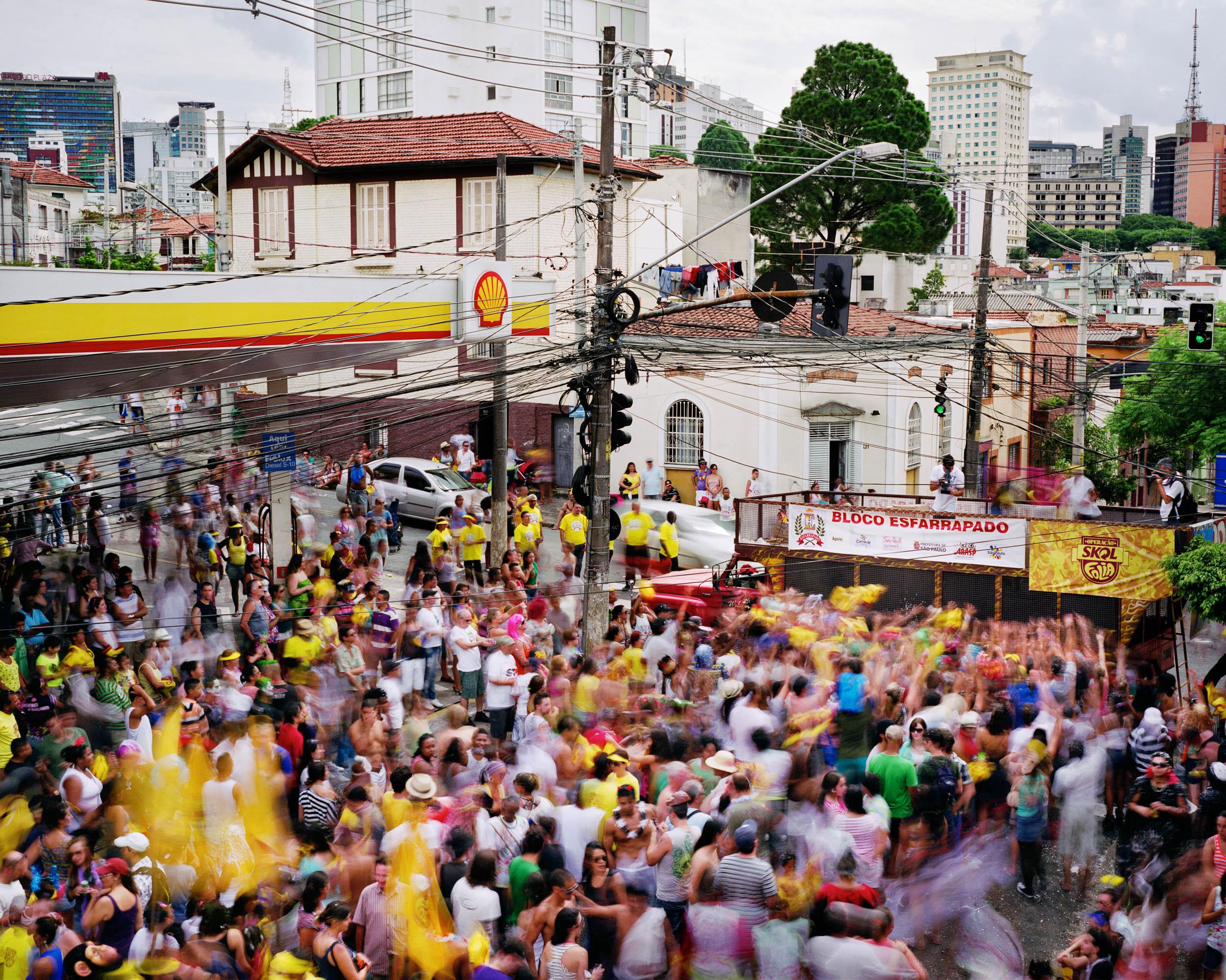 Rua Conselheiro Carrao, Se, Sao Paulo, Brazil (Carnaval)