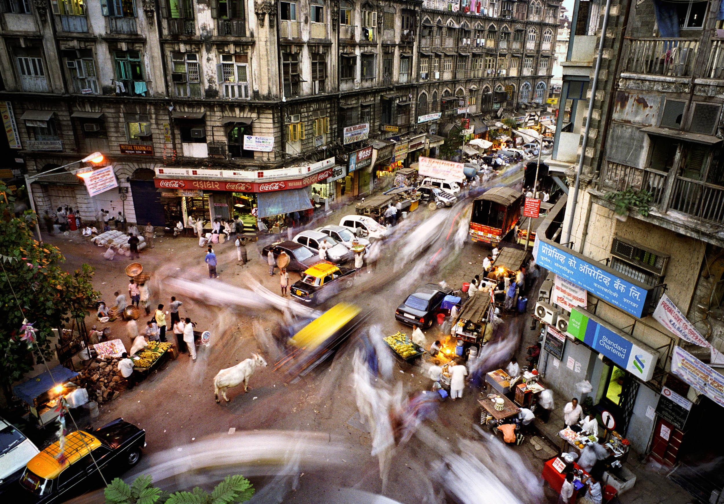 Metropolis Study.  Mumbai, India