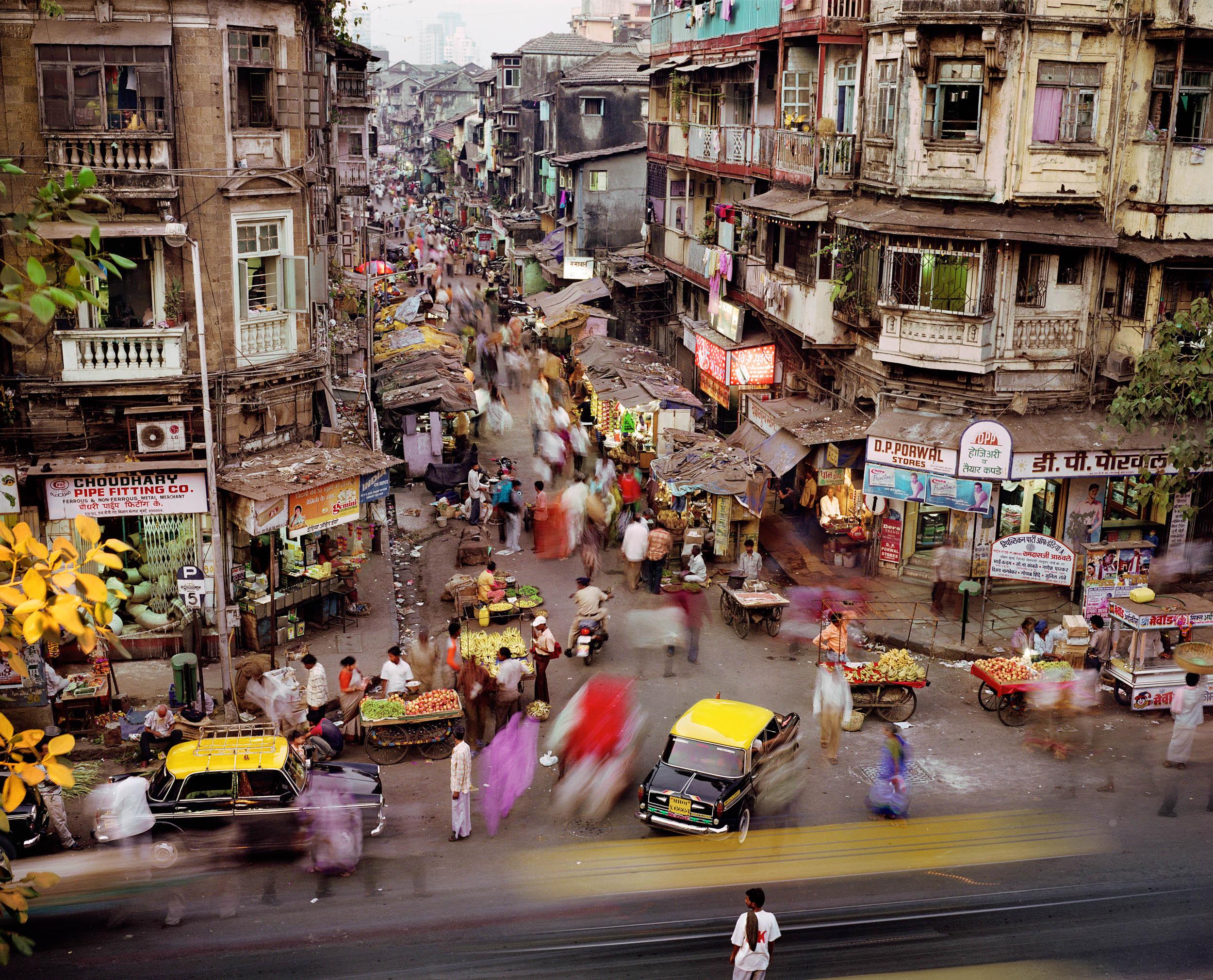 Sardar Vallabhbhai Patel Road and SS Maharaj Marg, Kamathipura, Mumbai, India