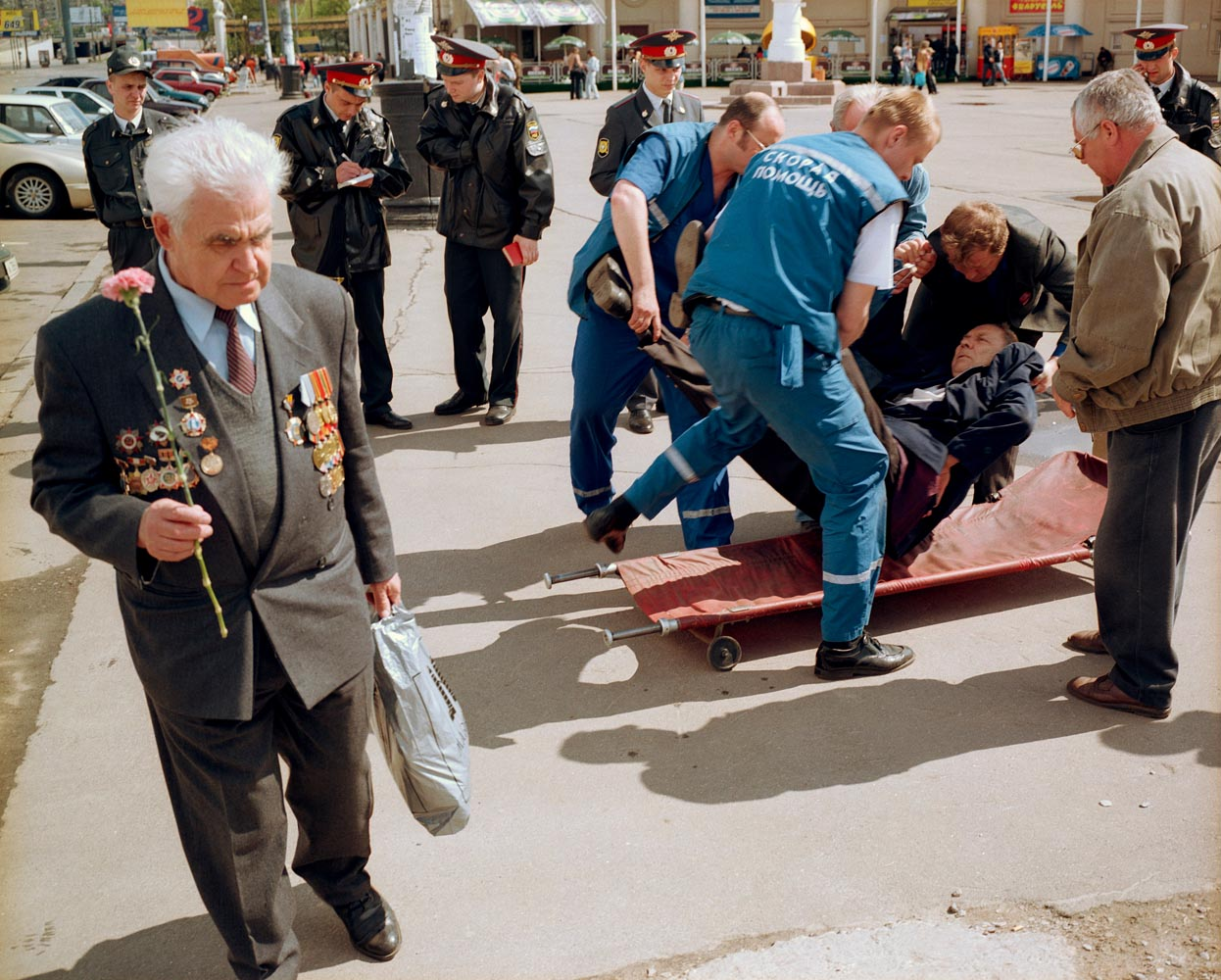 Moscow, Russia. Victory Day celebrations