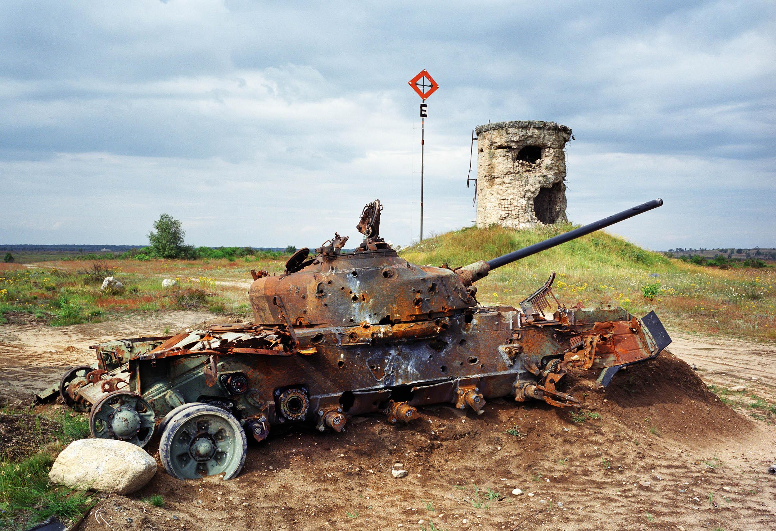 Germany. Russian shooting range