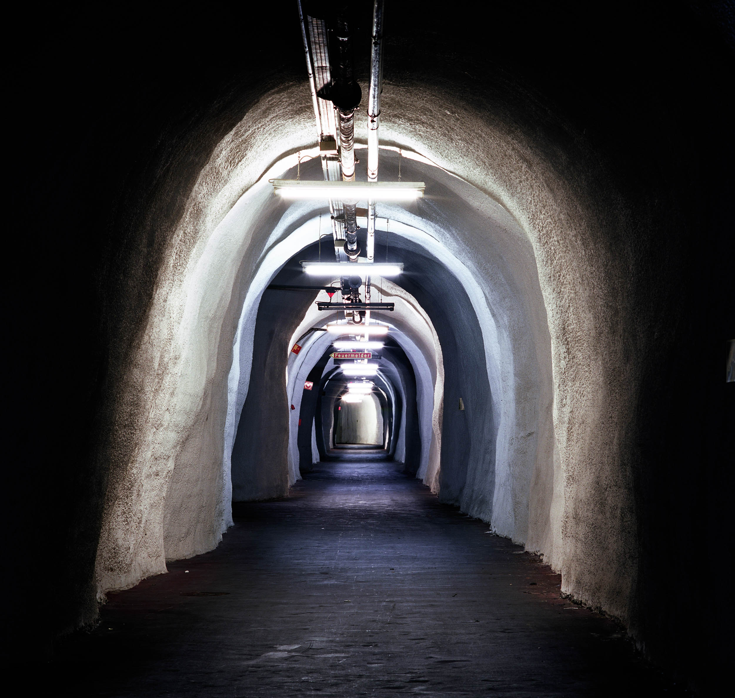 Underground bunker of the West German Army