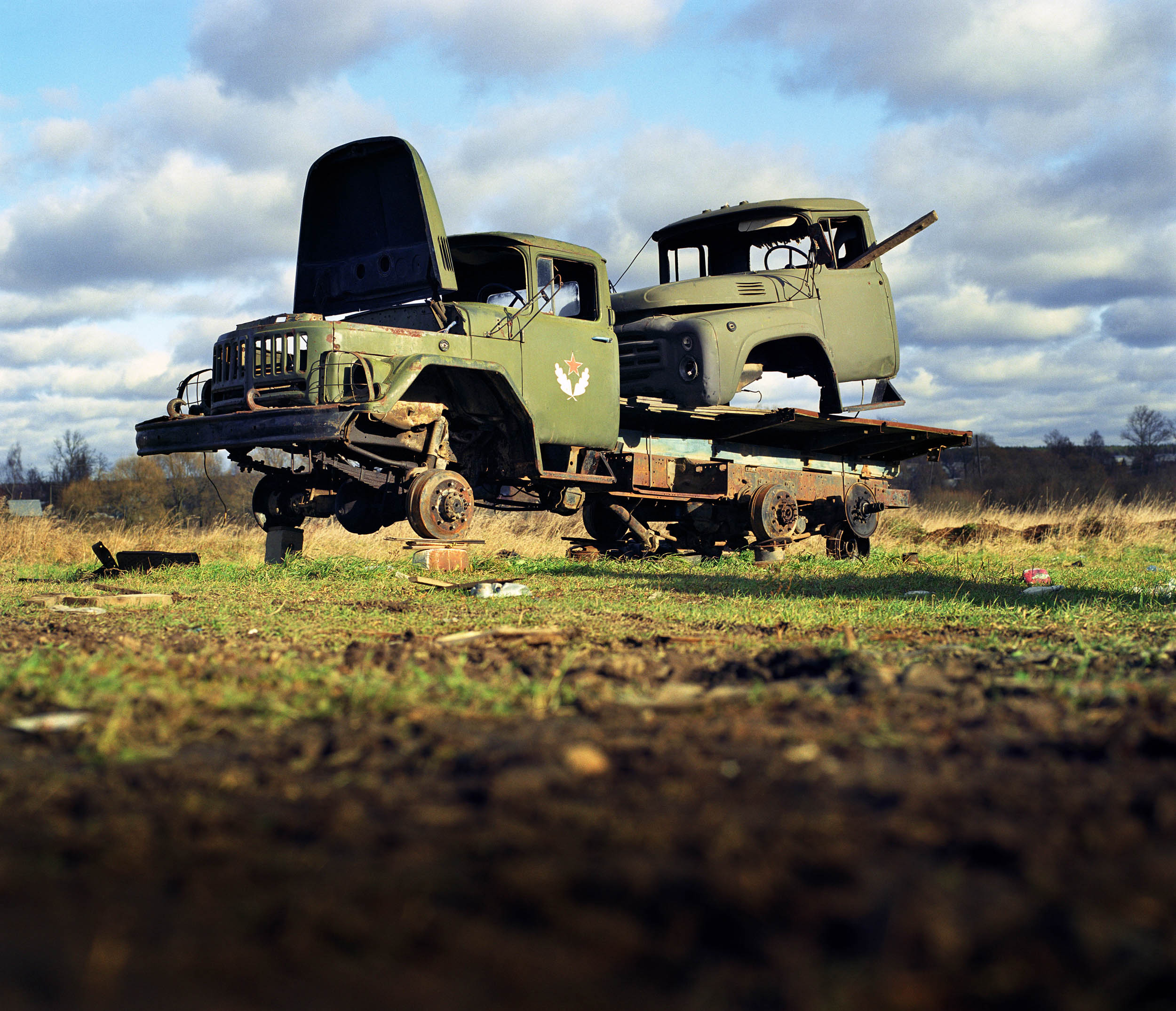 Russia. Soviet Army trucks