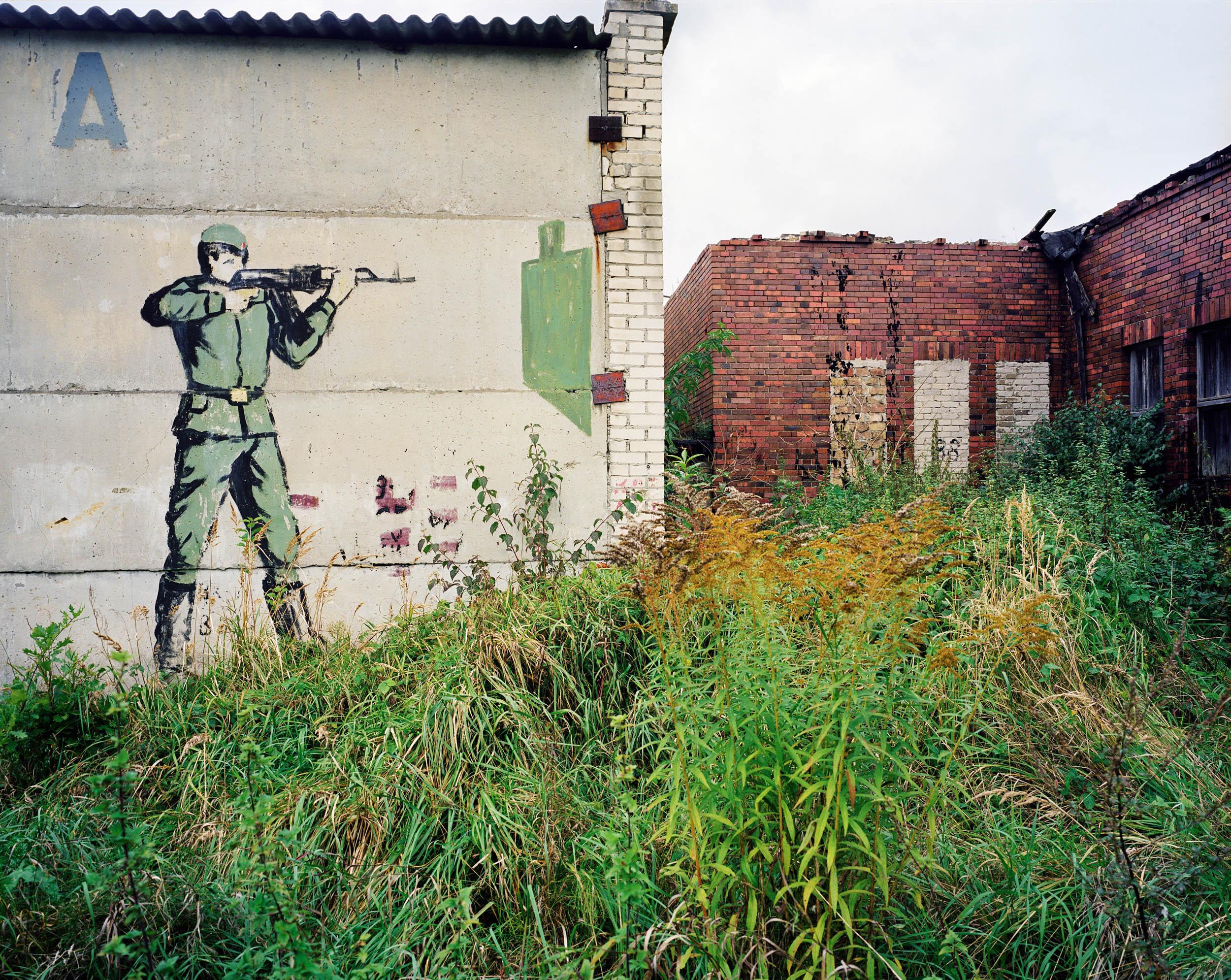 Germany. Soviet Army base