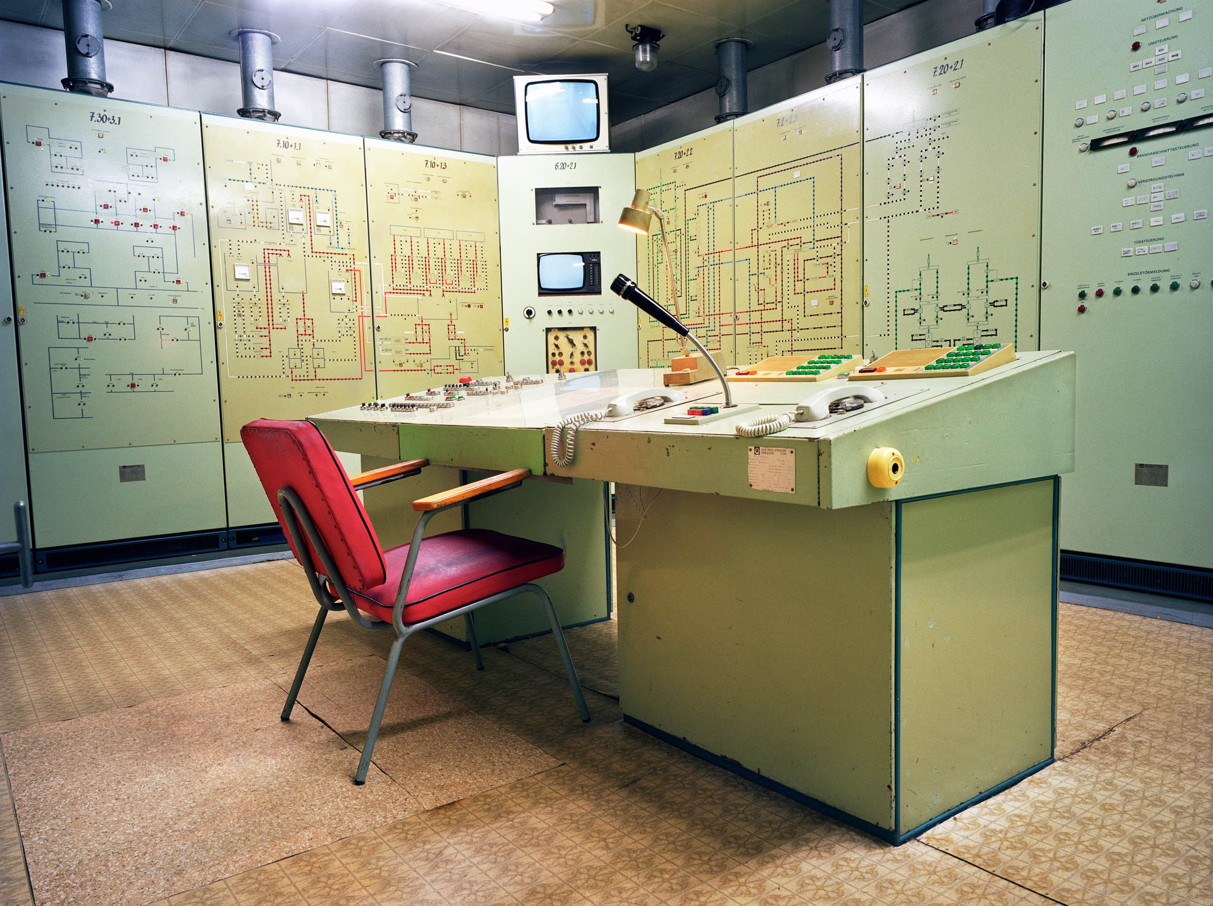 Underground bunker of the East German Army