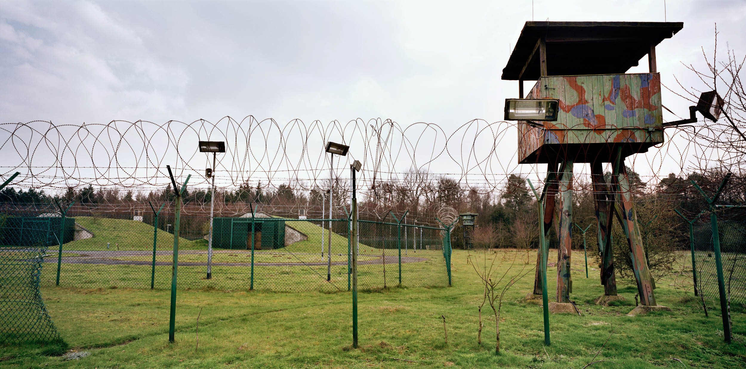 Germany. American storage depot for nuclear weapons