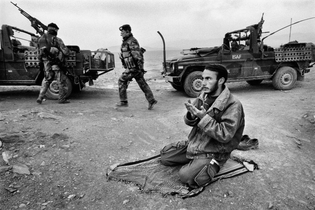 Dutch patrol. Kabul, Afghanistan, 2002