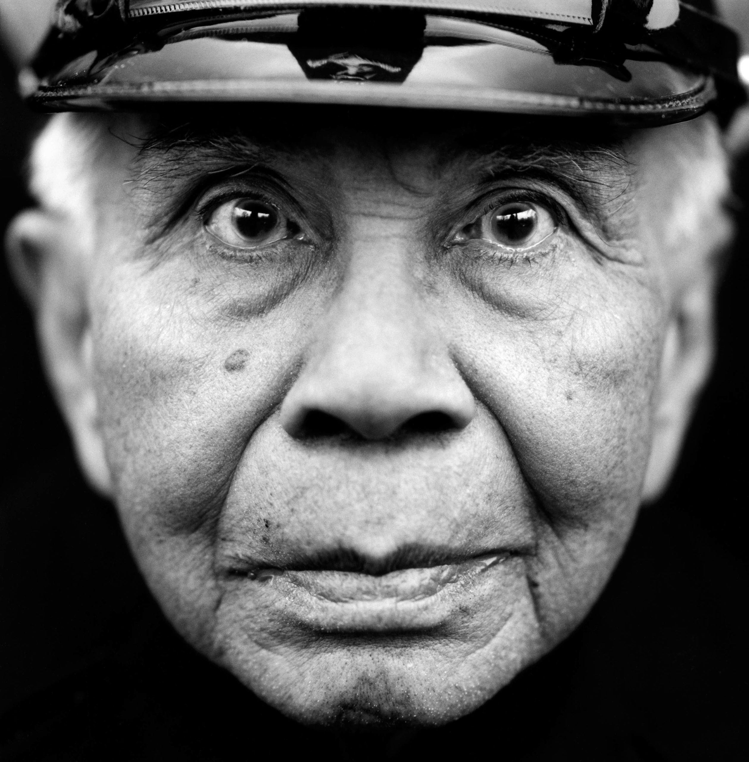 """Henk Paulus (Dutch East Indies, 1917) . Interview outtake: """"There was a Japanese guard who took pleasure in thrashing people up. He would beat the living daylights out of you. And afterwards, he would be really kind and gave you his last cigarette."""""""