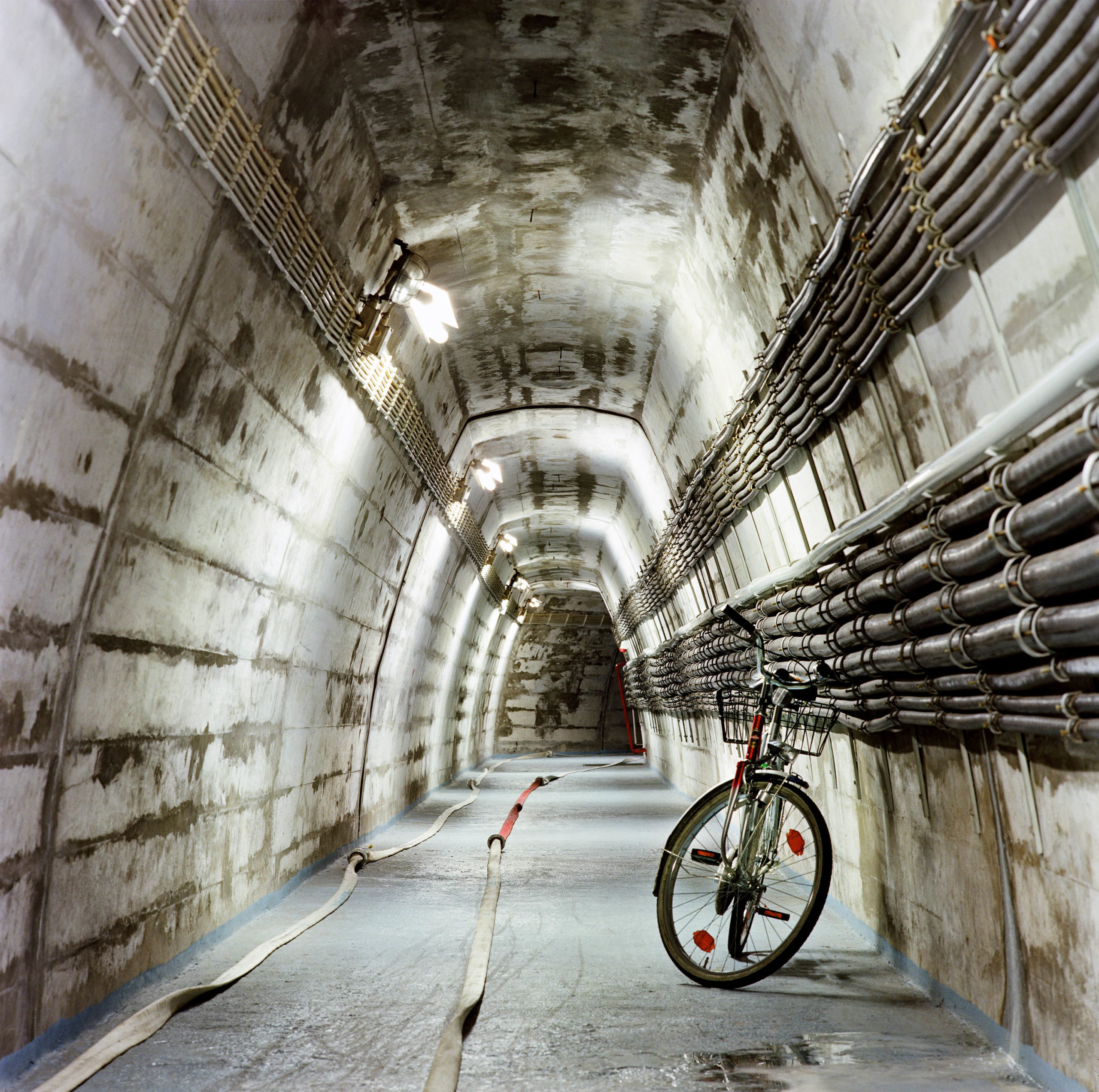 Underground nuclear shelter for the West German Government