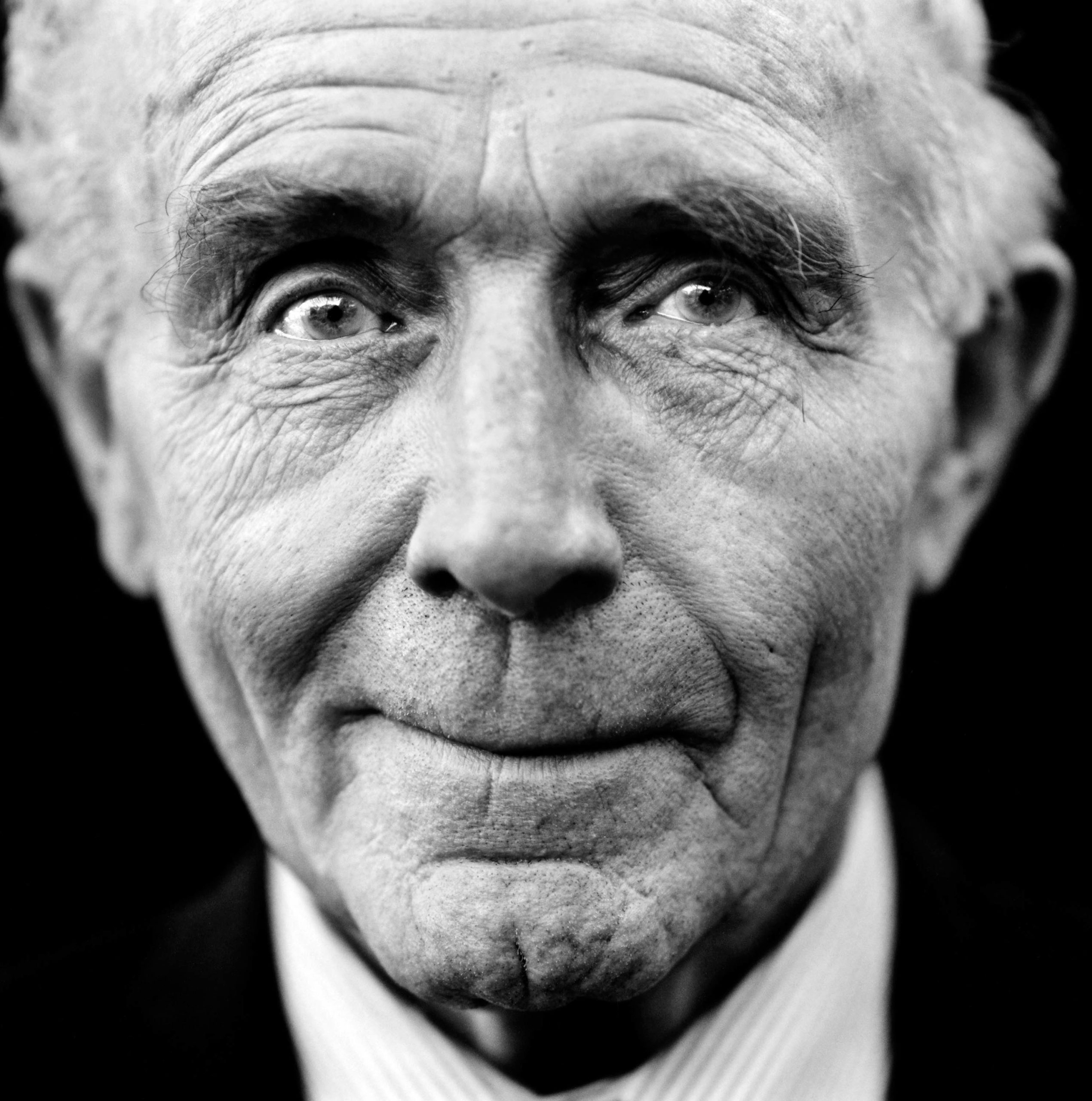 """Vernon Jones (United Kingdom, 1923). Interview outtake: """"I probably killed a couple of dozen Germans during the war, but it's never bothered me. I don't think about it and it's something that I never dream about. That's not very human, is it?"""""""