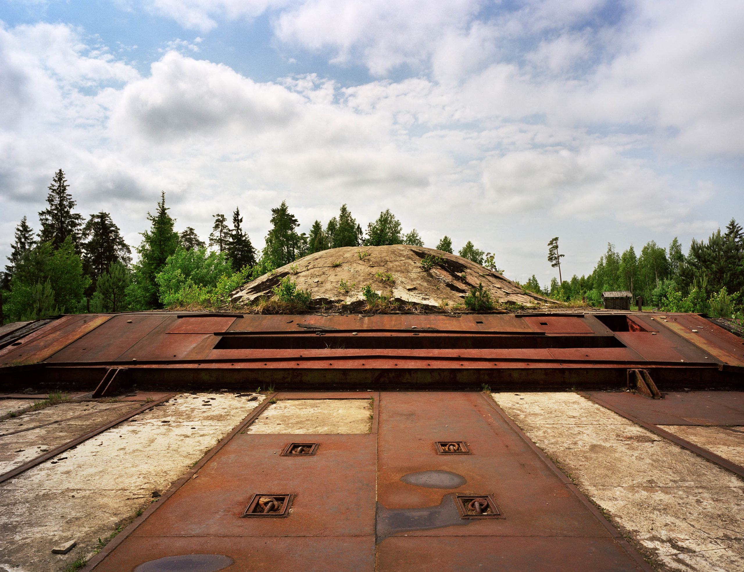 Lithuania. Soviet SS-4 missile base