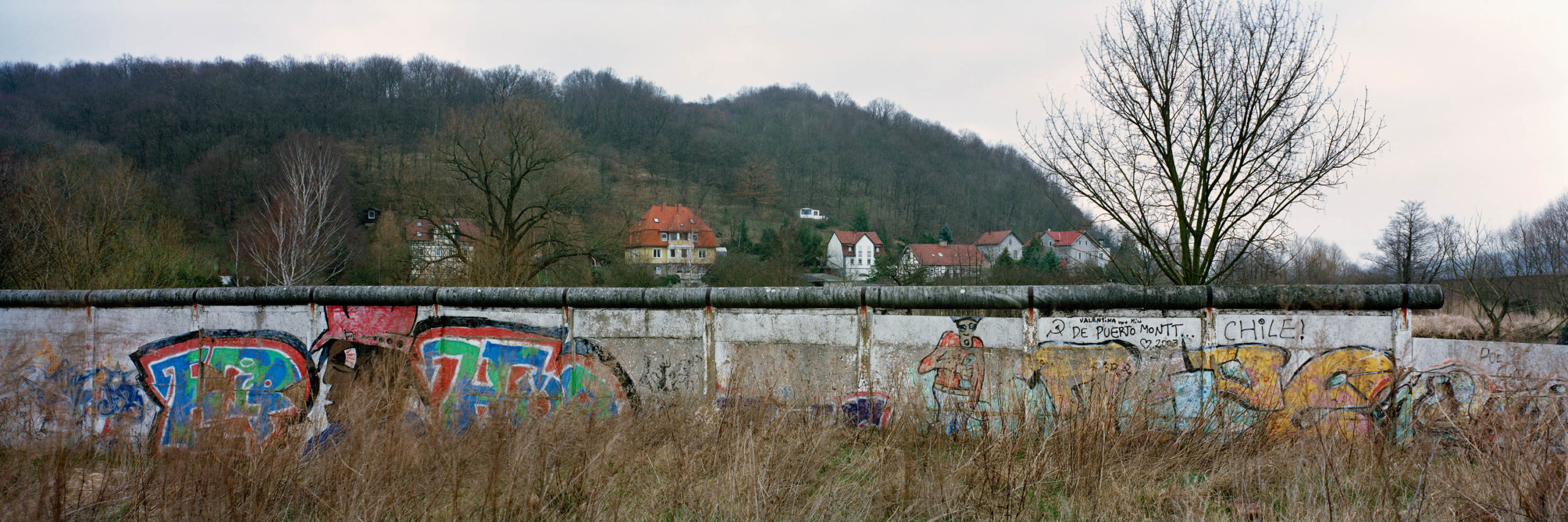 Border between East and West Germany