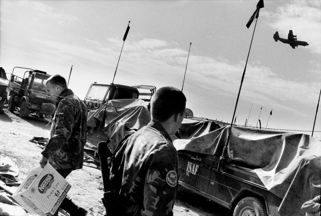 NATO base. Kabul, Afghanistan, 2002