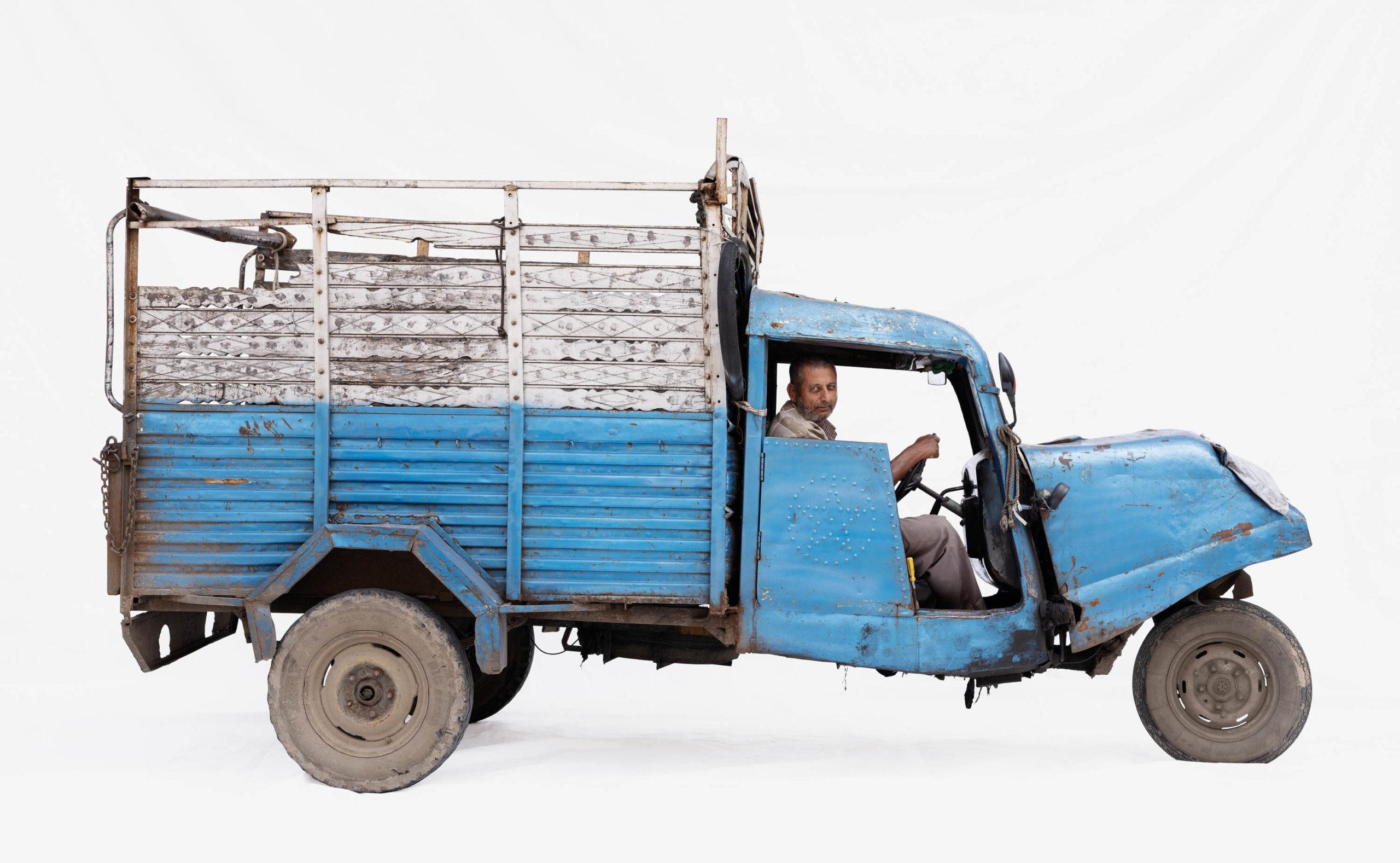 Bajaj Tempo #2; Courier Mohammad Zahir (Ujjain, Madhya Pradesh)