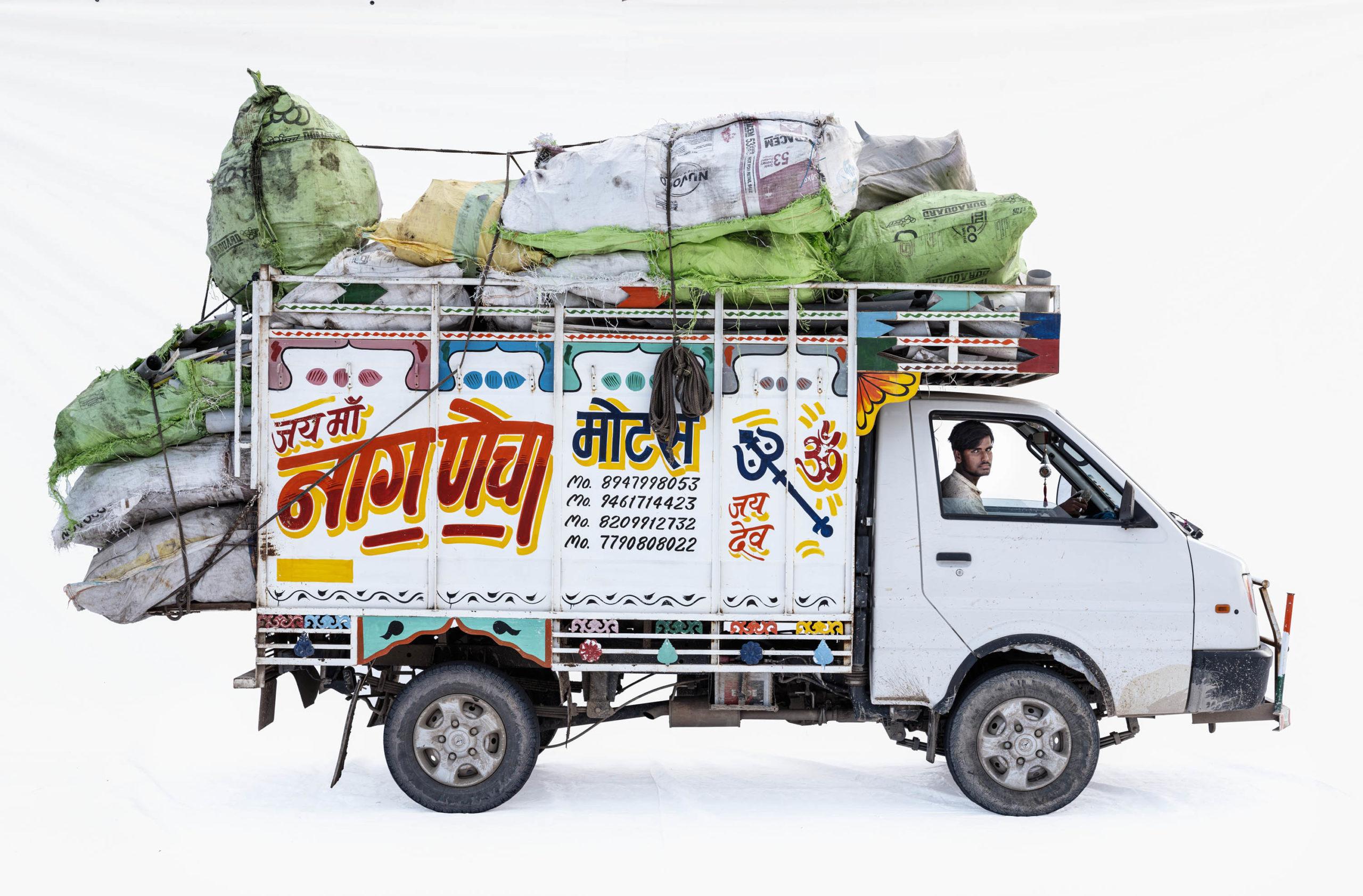 Ashok Leyland Dost Plus; Garbage driver Pralhad Singh (Bhilwara, Rajasthan)