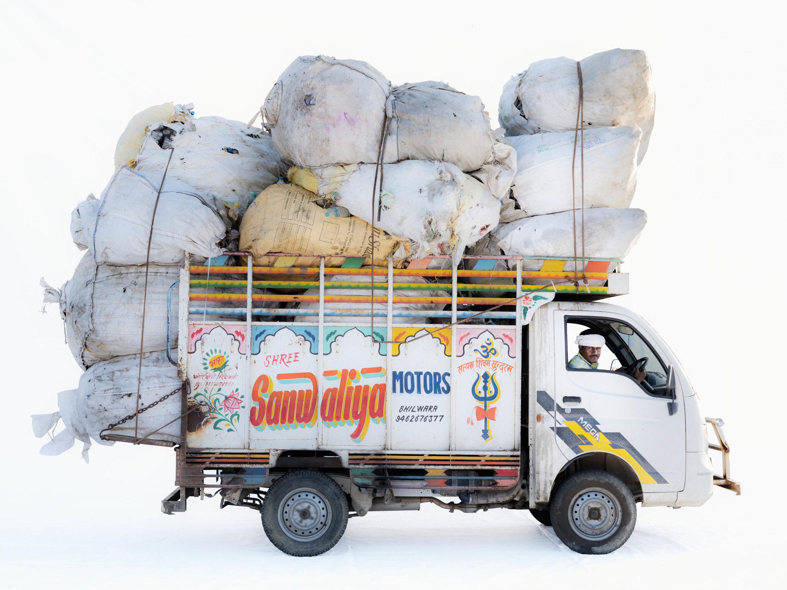 Tata Ace Mega; Garbage driver Udaylal Teli (Bhilwara, Rajasthan)