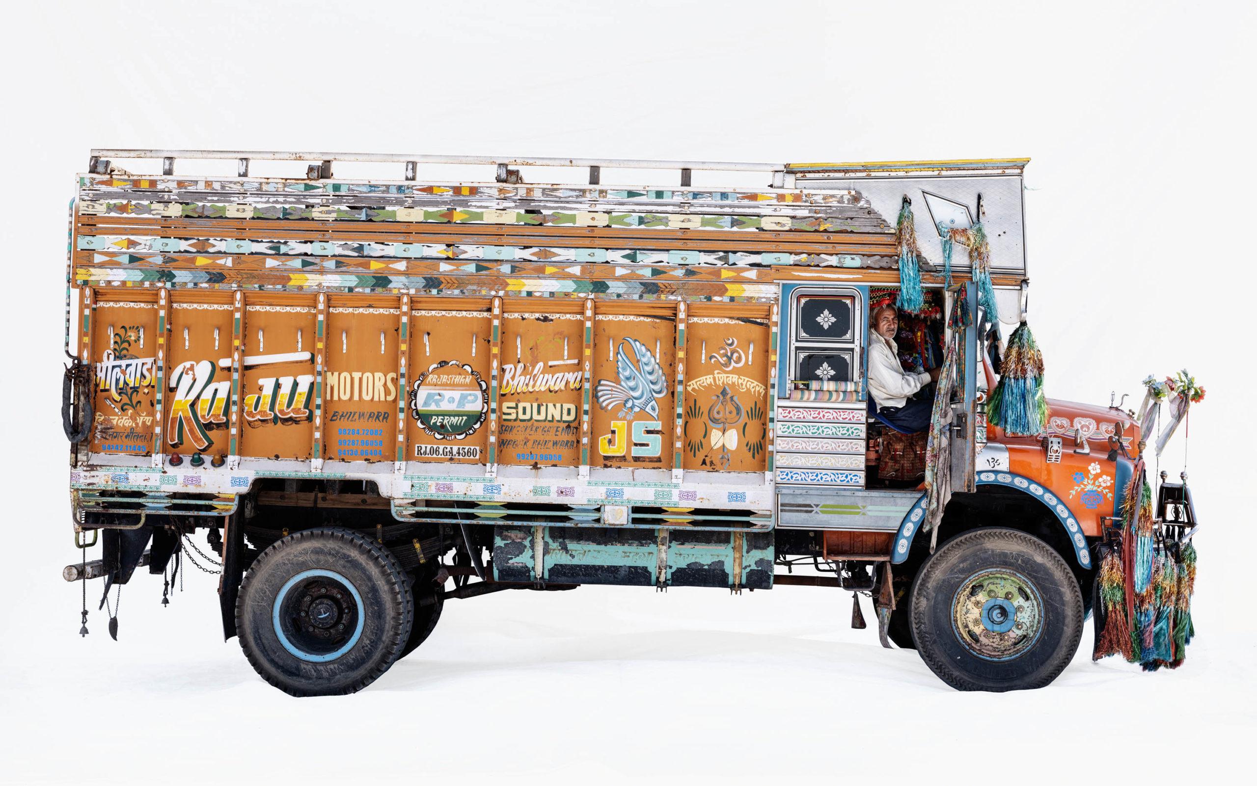Tata S 1210; Truck driver Jamanalal Teli (Bhilwara, Rajasthan)