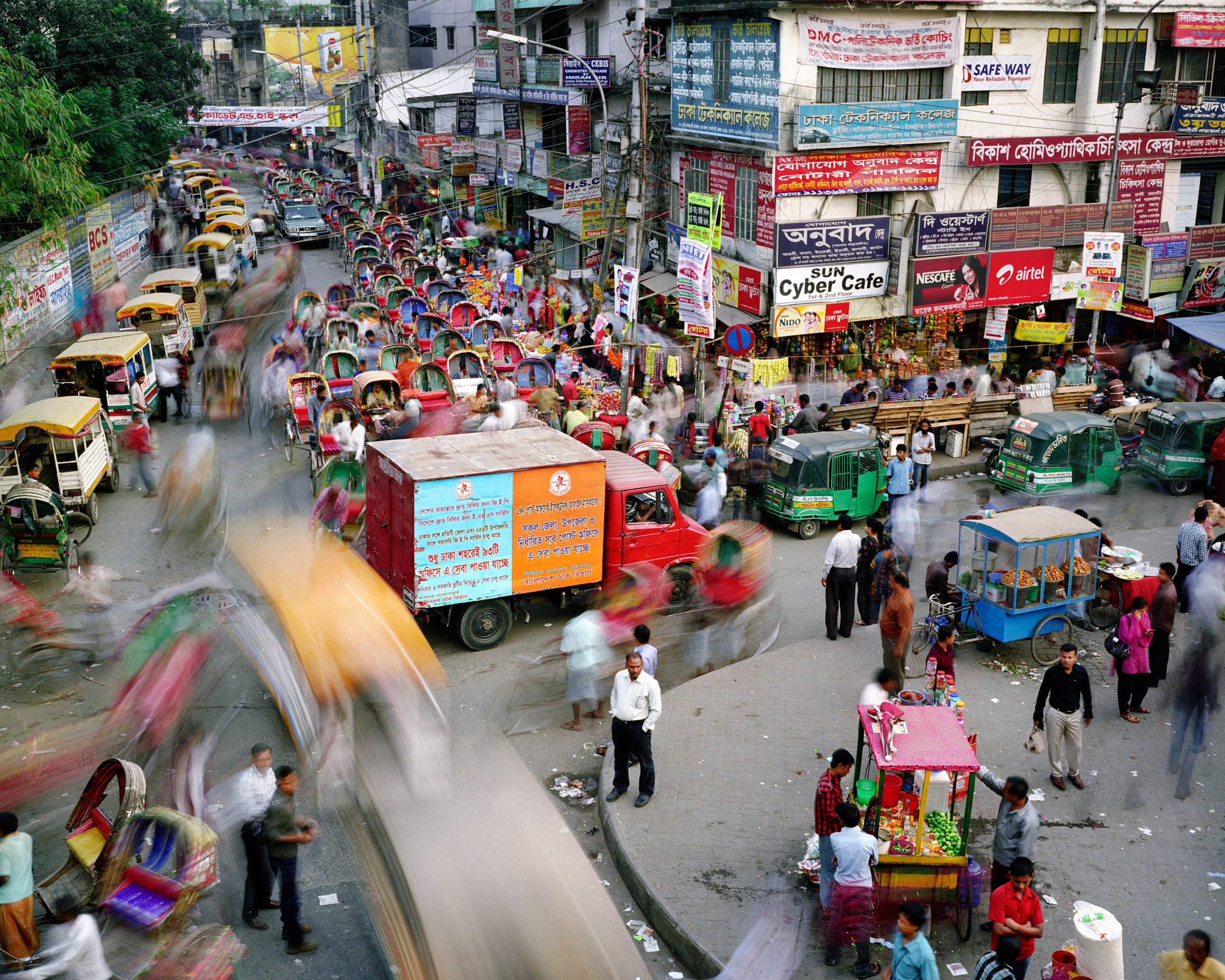 Tejturi Bazar, Farmgate, Dhaka, Bangladesh