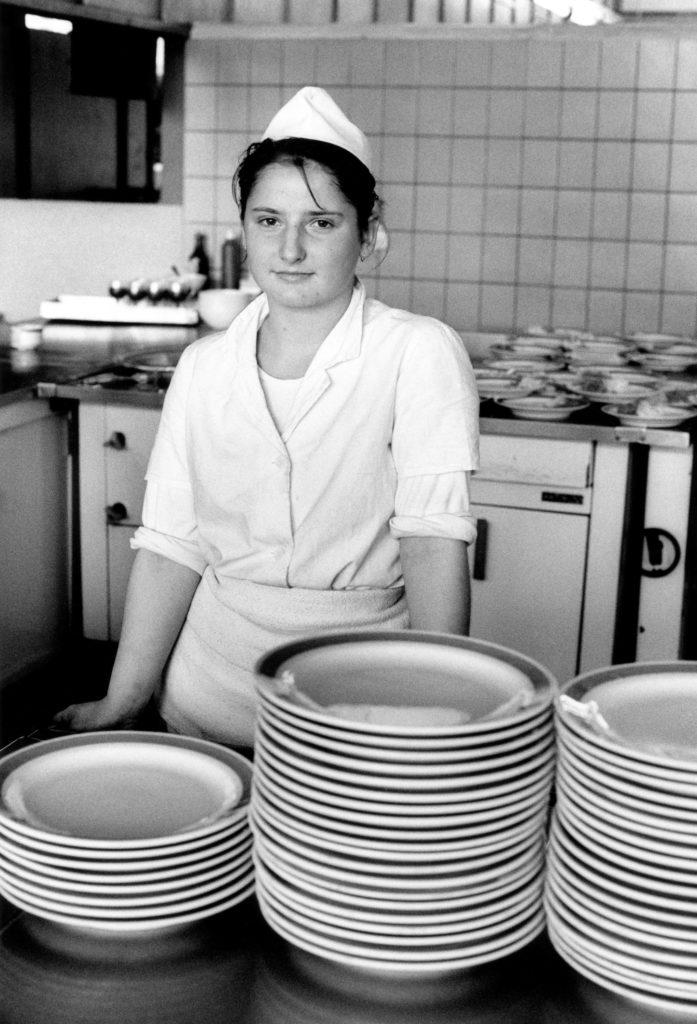 Canteen worker, 1991