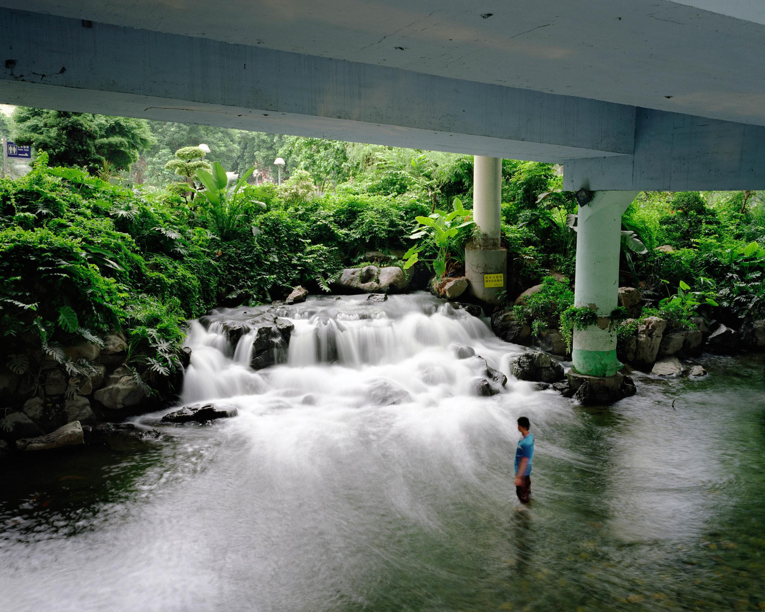 Dong Hao River, Yue Xiu District, Guangzhou, China