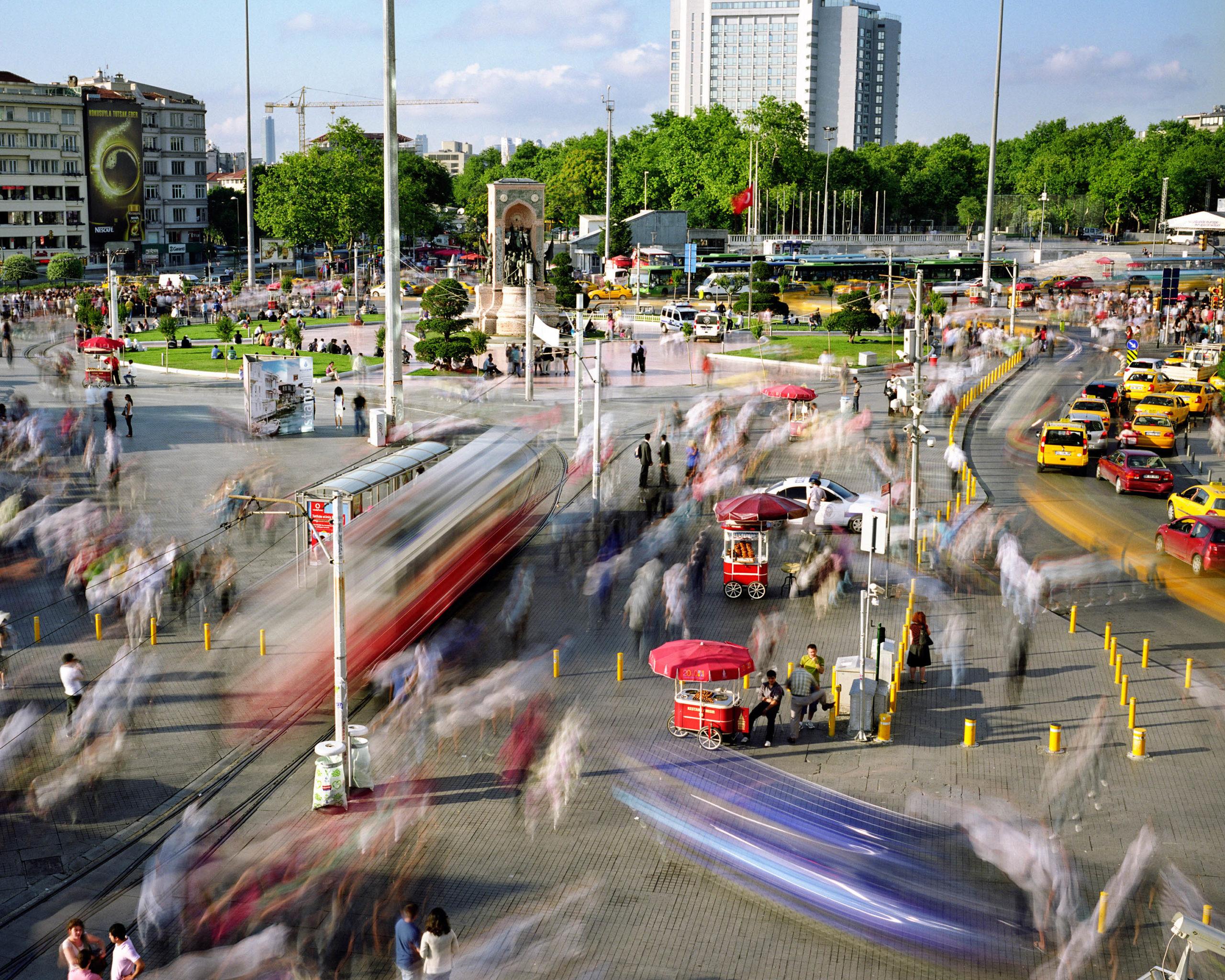 Taksim Meydani, Beyoglu, Istanbul, Turkey