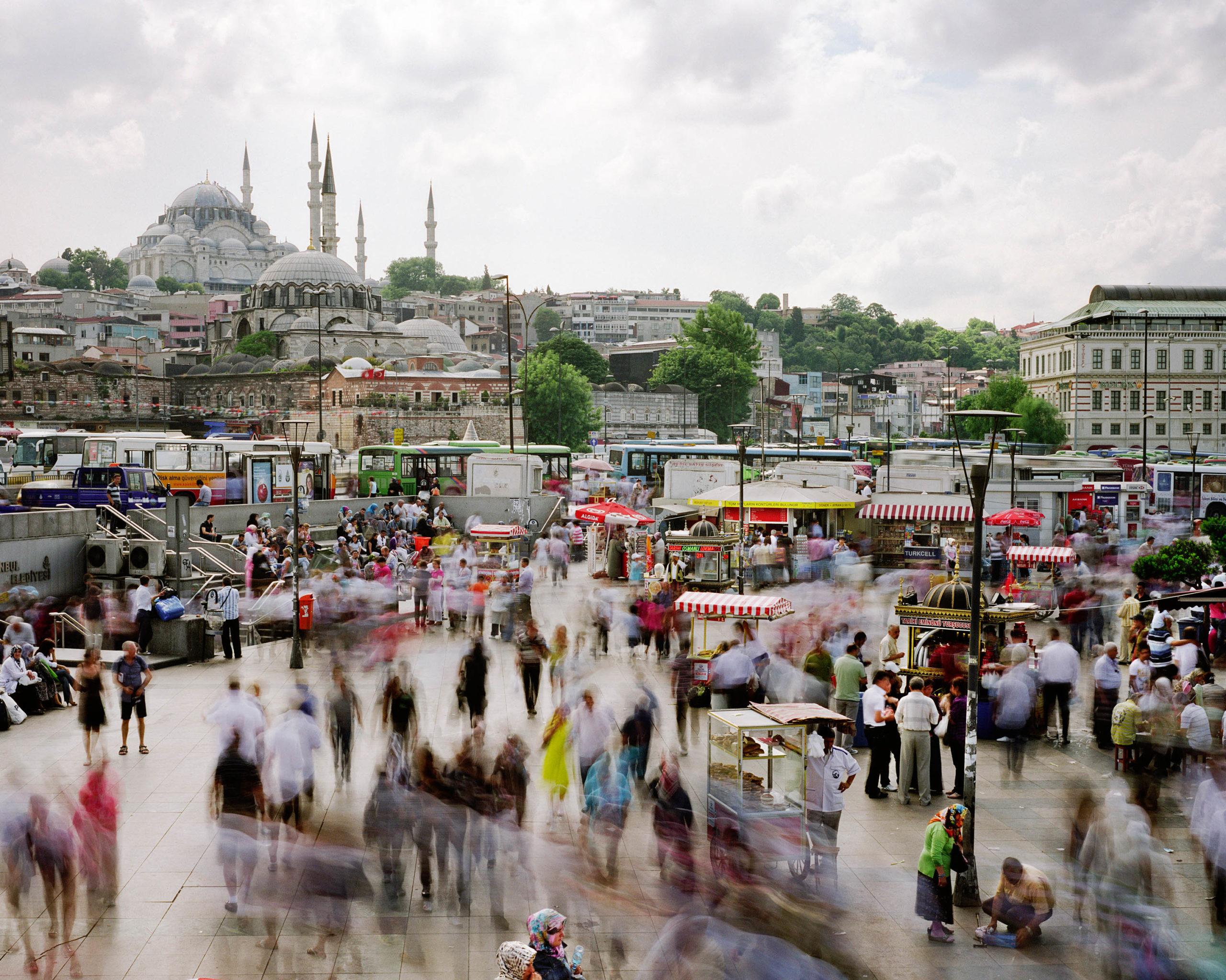 Eminonu Meydani, Fatih, Istanbul, Turkey