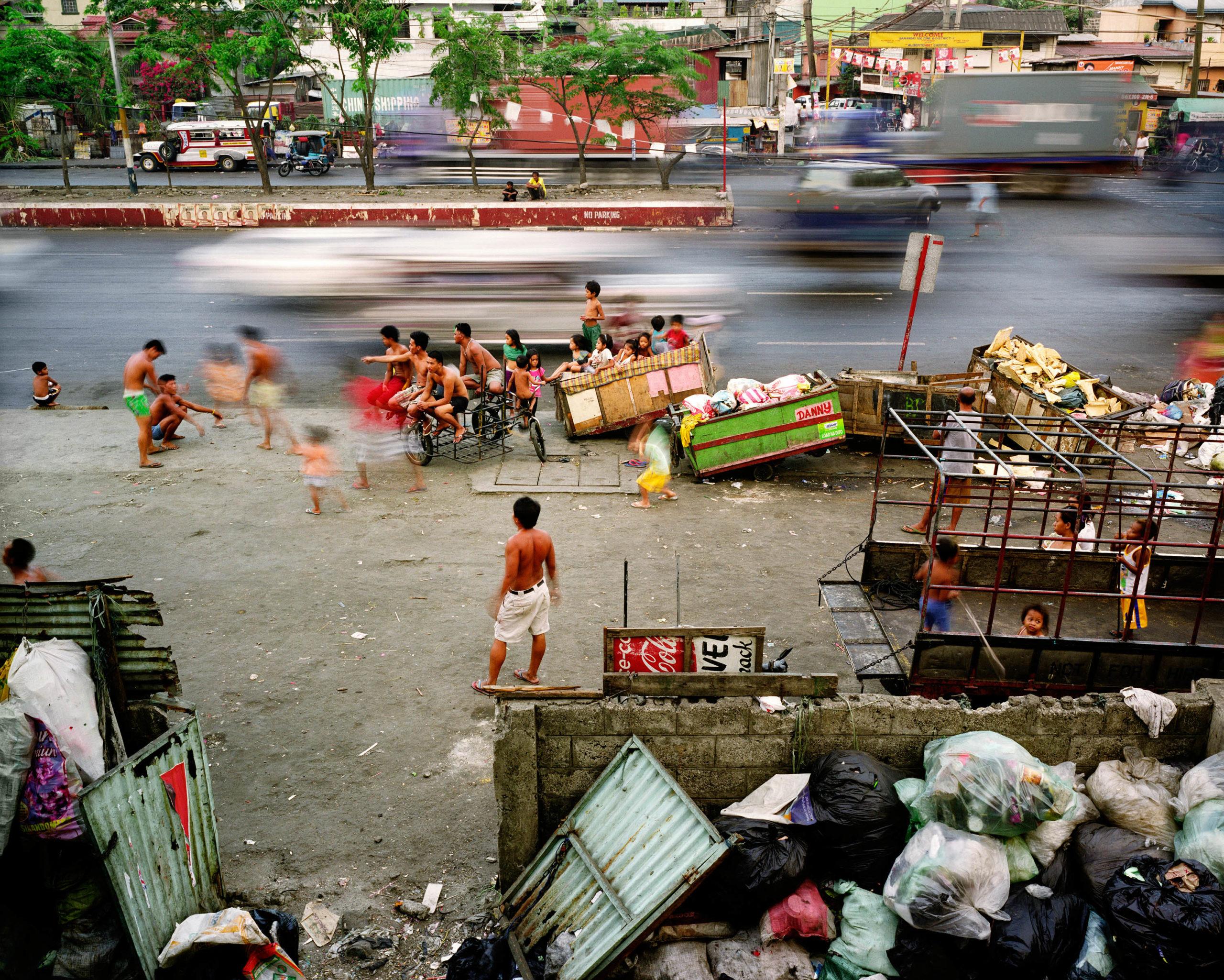 Radial Road, Tondo, Manila, Philippines