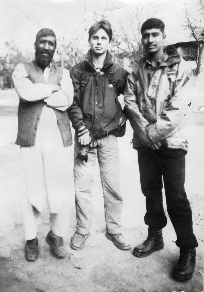 Here I am in Kabul. Afghanistan, 2002