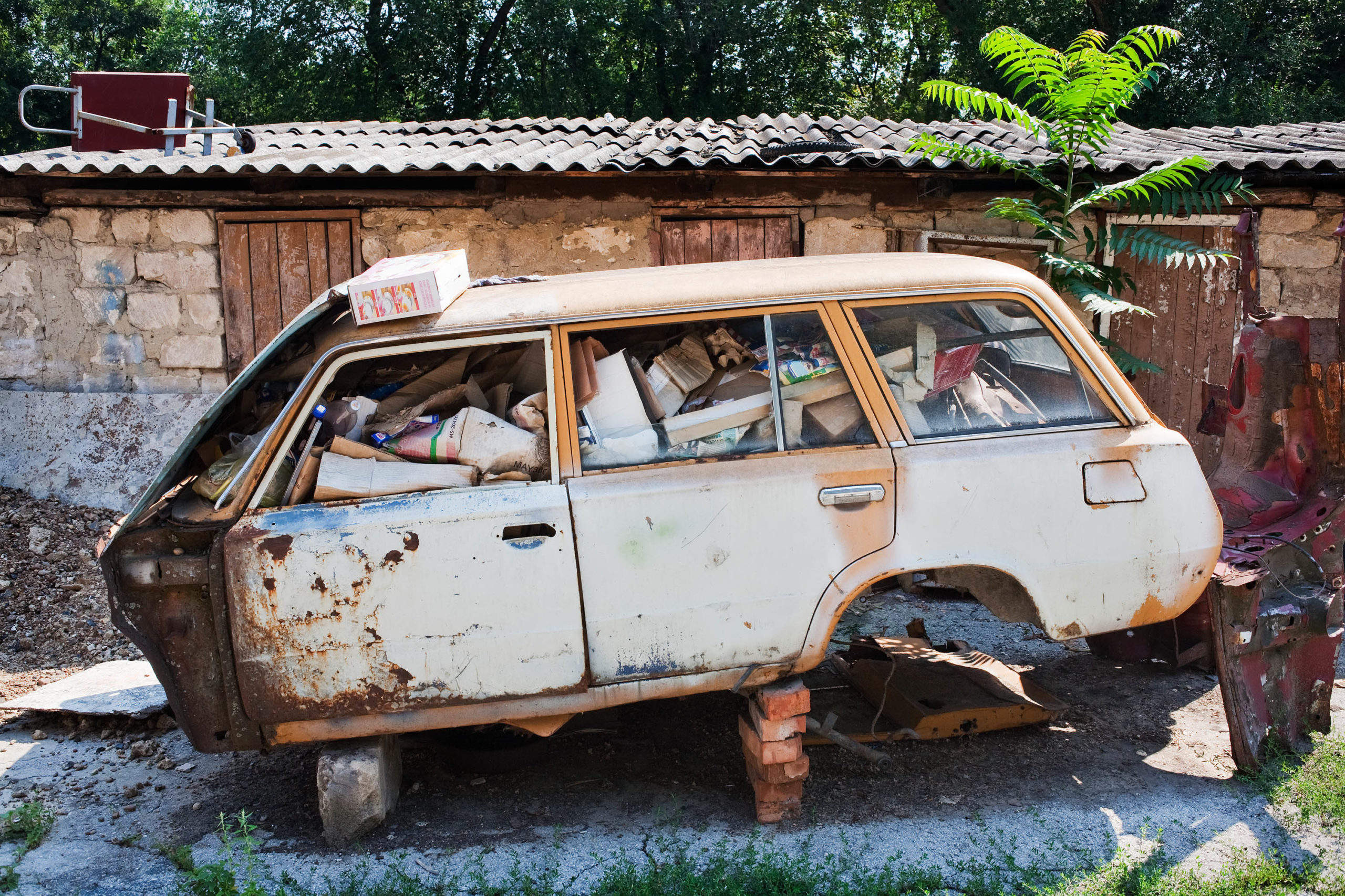Lada #3. Chisinau, Moldova, 2008