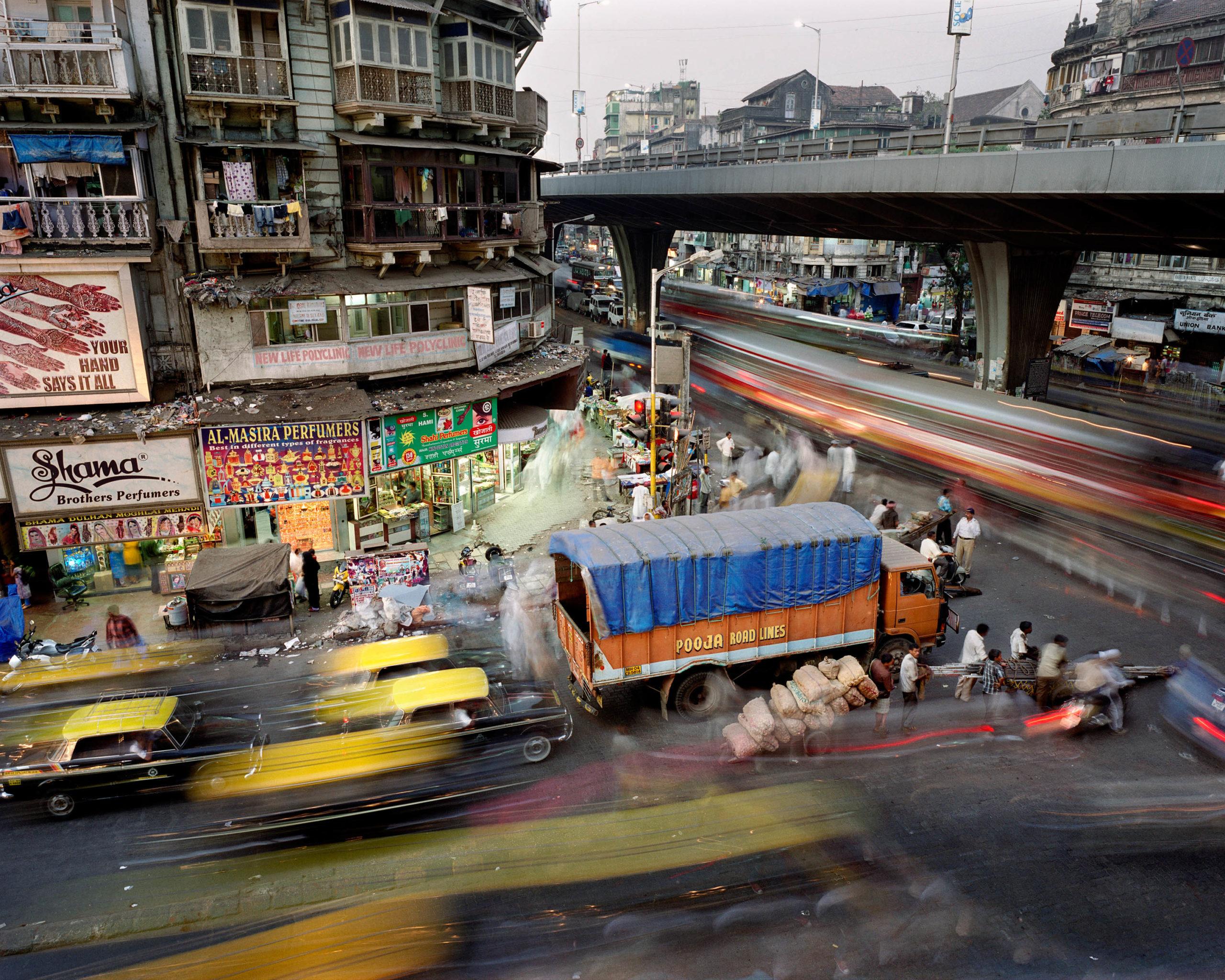 Sardar Vallabhbhai Patel Road and Mohammed Ali Road, Kumbharwada, Mumbai, India