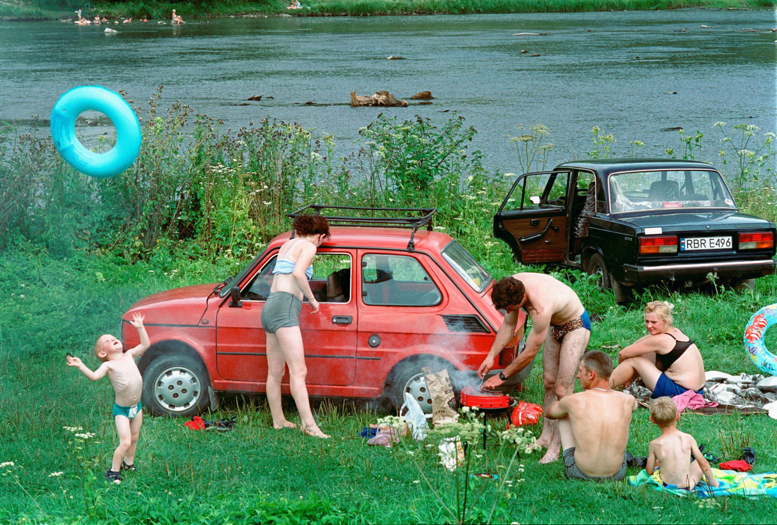 Polski Fiat, Lada. Lesko, Poland, 2002