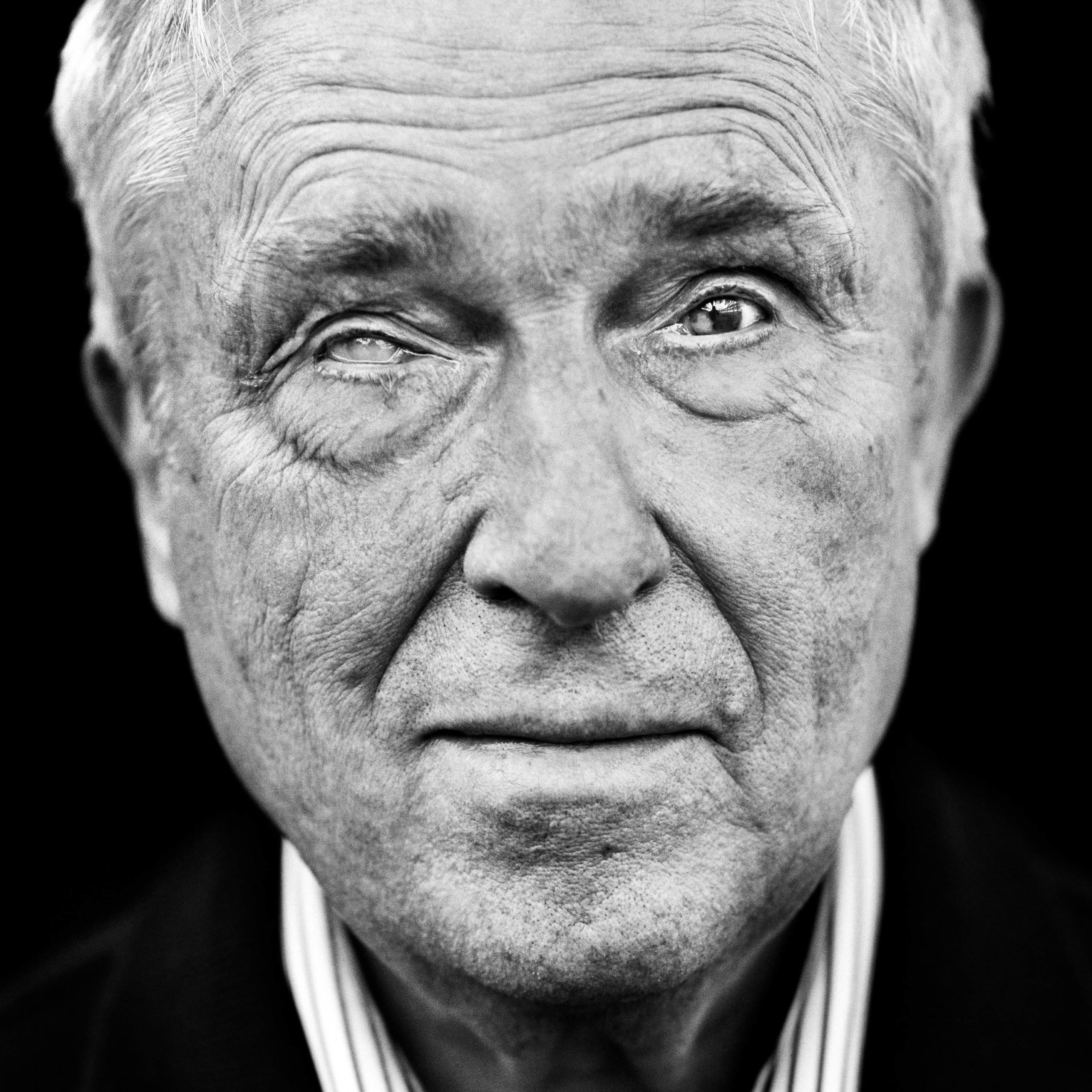 """Dieter Renelt (Germany, 1938). Interview outtake: """"I wanted to show my mother how good my eyes were and promptly ran into a tree."""""""