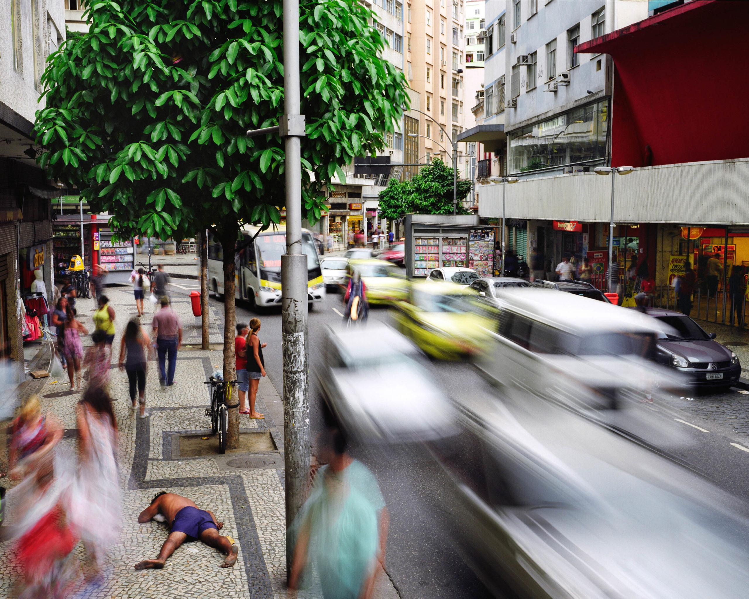 Rua Riachuelo, Lapa, Rio de Janeiro, Brazil
