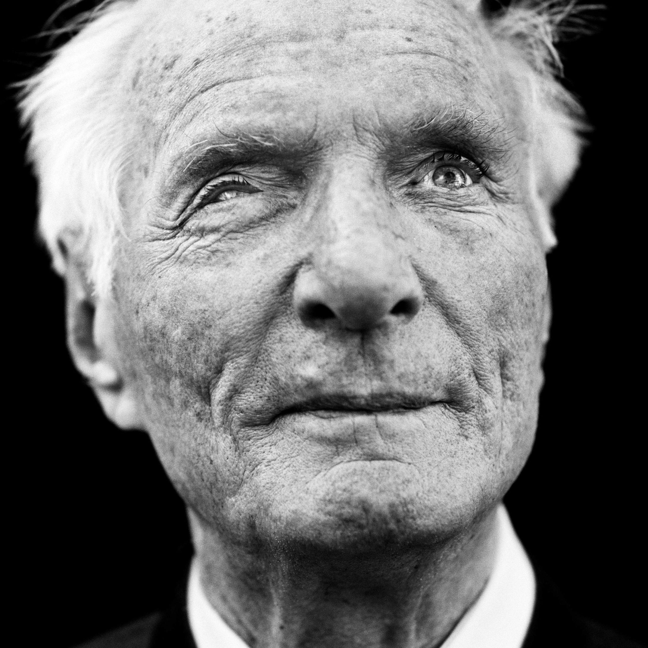 """Rudolf Söder (Germany, 1924). Interview outtake: """"In 1994 I returned to the Crimea with my wife. all those images came back to me. (…) Then I was twenty, I was looking at the sea and thinking, """"what am I doing here? This country doesn't belong to us, does it?"""" I just wanted to swim away."""""""
