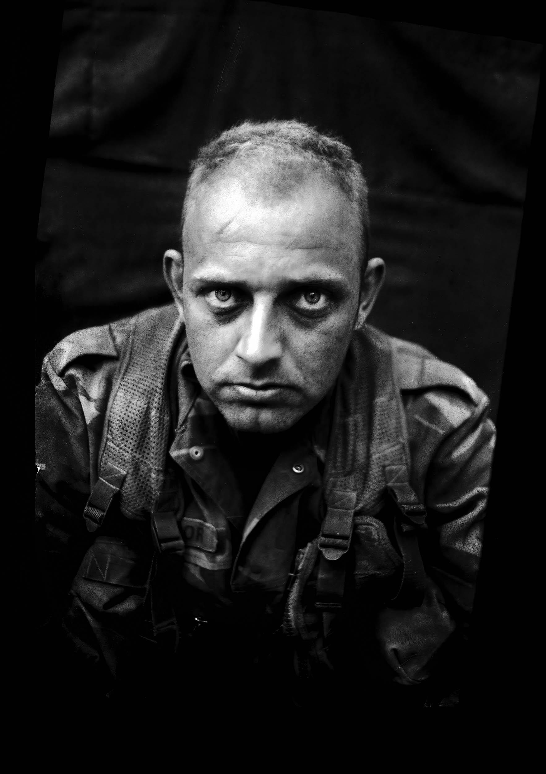 Sergeant Maarten, ammunition officer
