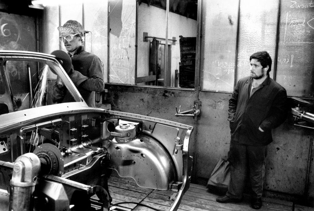 Polishing weld seams, 1990