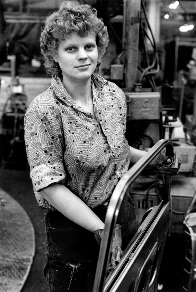 Assembly line worker #7, 1991